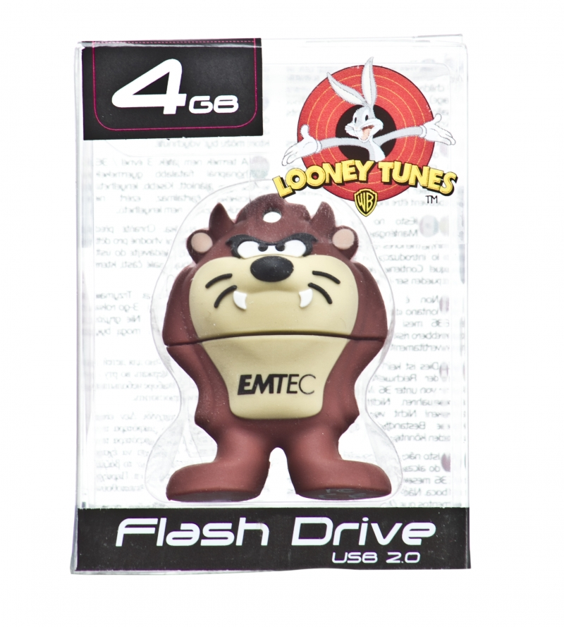 PEN DRIVE MINI LOONEY TUNES TAZ 4GB - COD.502