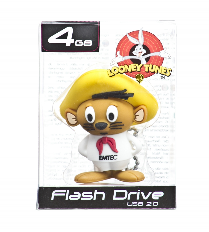 PEN DRIVE MINI LOONEY TUNES LIGEIRINHO 4GB - COD.489