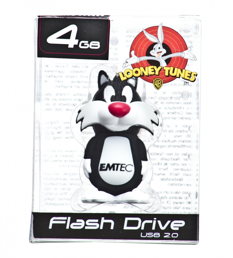 PEN DRIVE MINI LOONEY TUNES FRAJOLA 4GB - COD.486