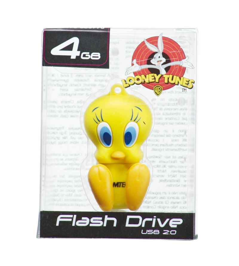 PEN DRIVE  MINI LOONEY TUNES PIUPIU 4GB - COD.487