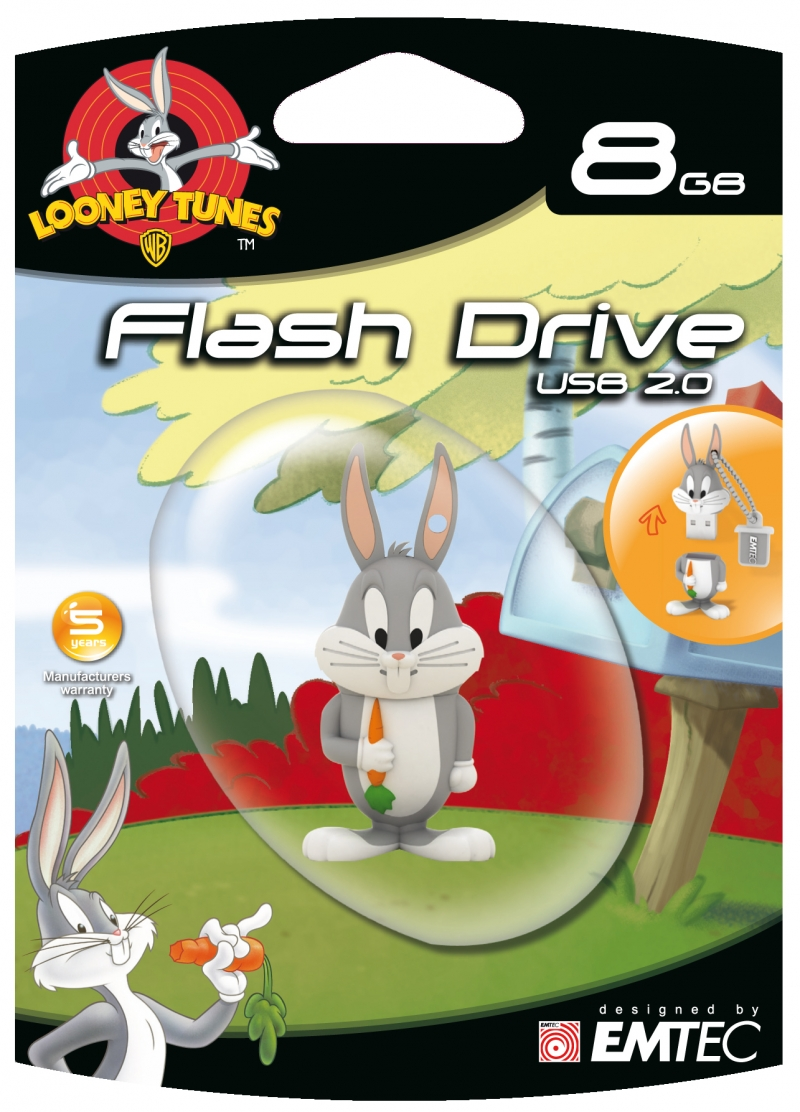 PEN DRIVE LOONEY TUNES PERNALONGA 8GB - COD.1564