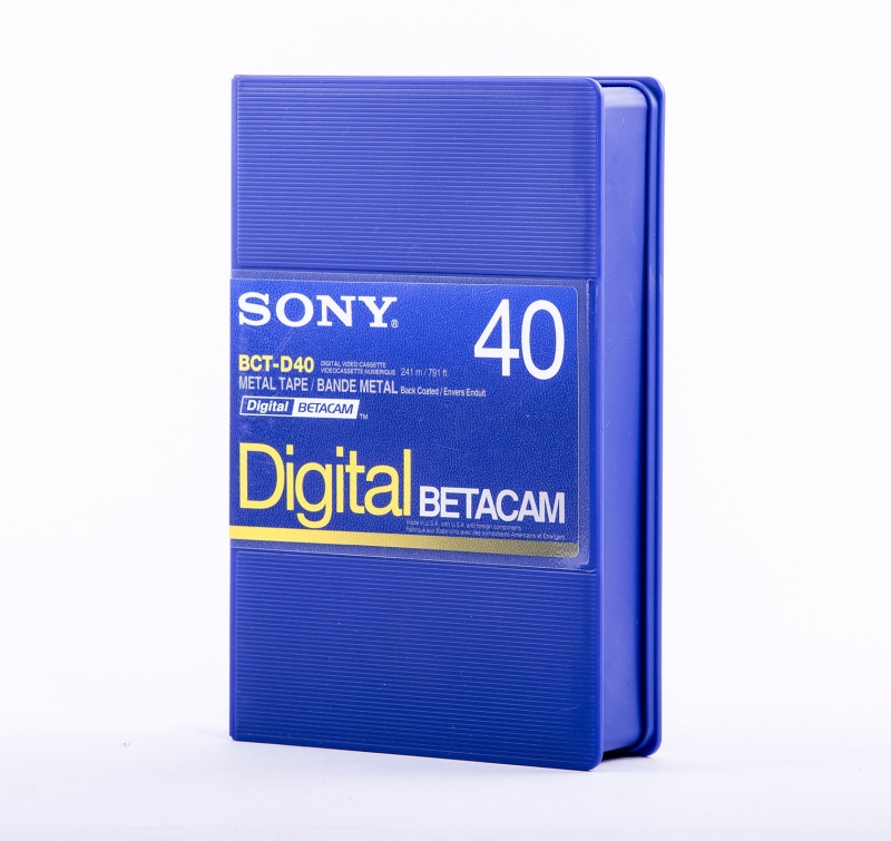 <p>FITA BETACAM SONY DIGITAL 040'</p>
