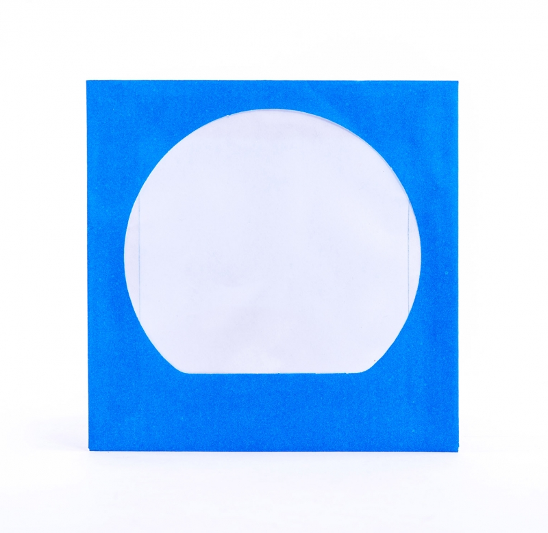 ENVELOPE CD AZUL C/ VISOR - COD.733