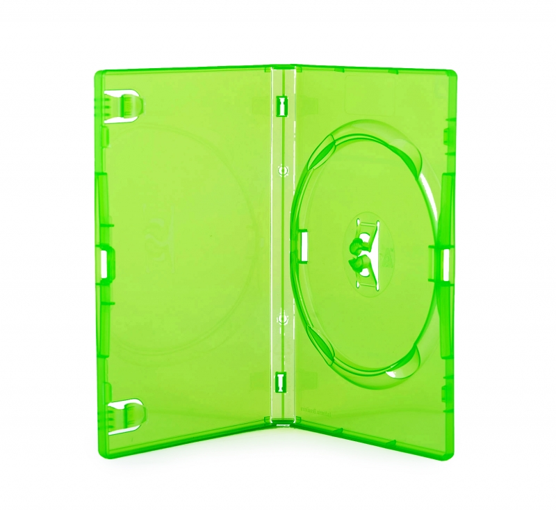 <p>BOX DVD AMARAY VERDE ESCURO 6757 - C&Oacute;D.1492</p>