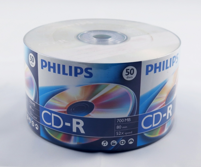 <p>CDR PHILIPS PINO 80MIN / 700MB / 52X - C&Oacute;D.91</p>