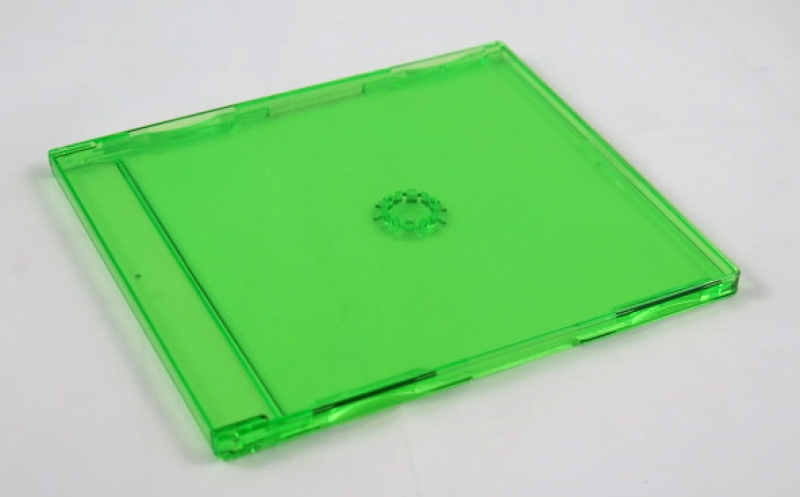<p>BOX CD ACRILICO SLIM VERDE CX C/148 - C&Oacute;D.2325</p>