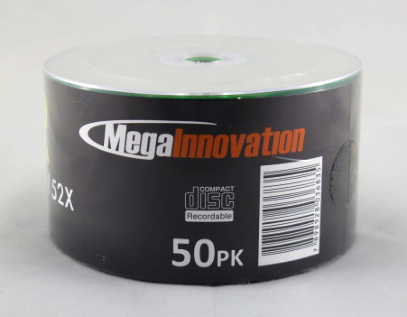 <p>CDR MEGA INOVATION PINO 80MIN/700MB/52X PRINTABLE - C&Oacute;D.2333</p>