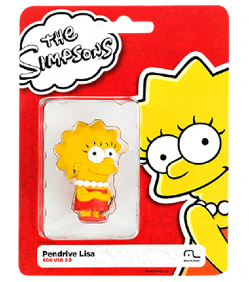 PEN DRIVE SIMPSONS LISA 8GB - COD.2429