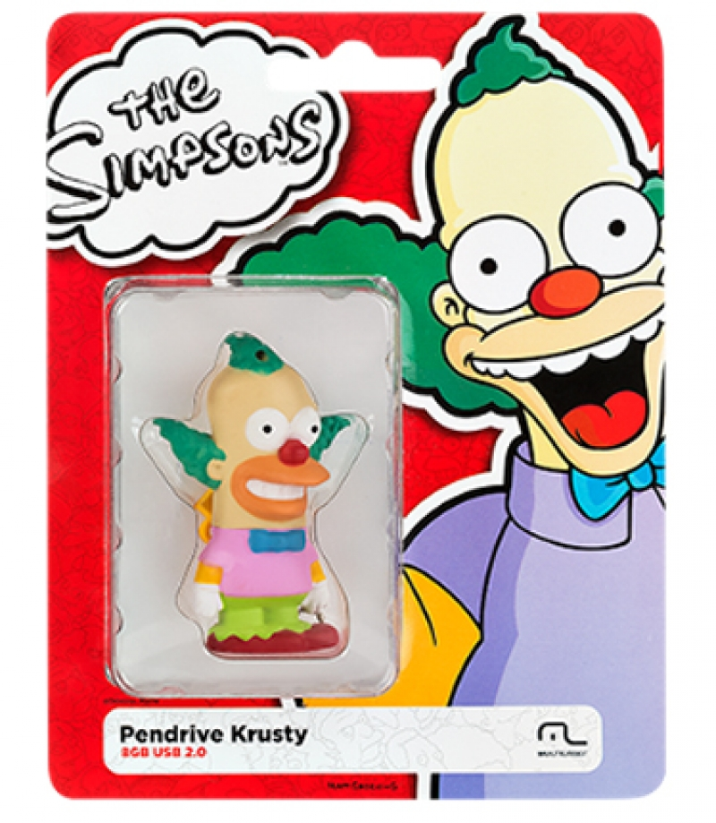 PEN DRIVE SIMPSONS KRUSTY 8GB - COD.2431