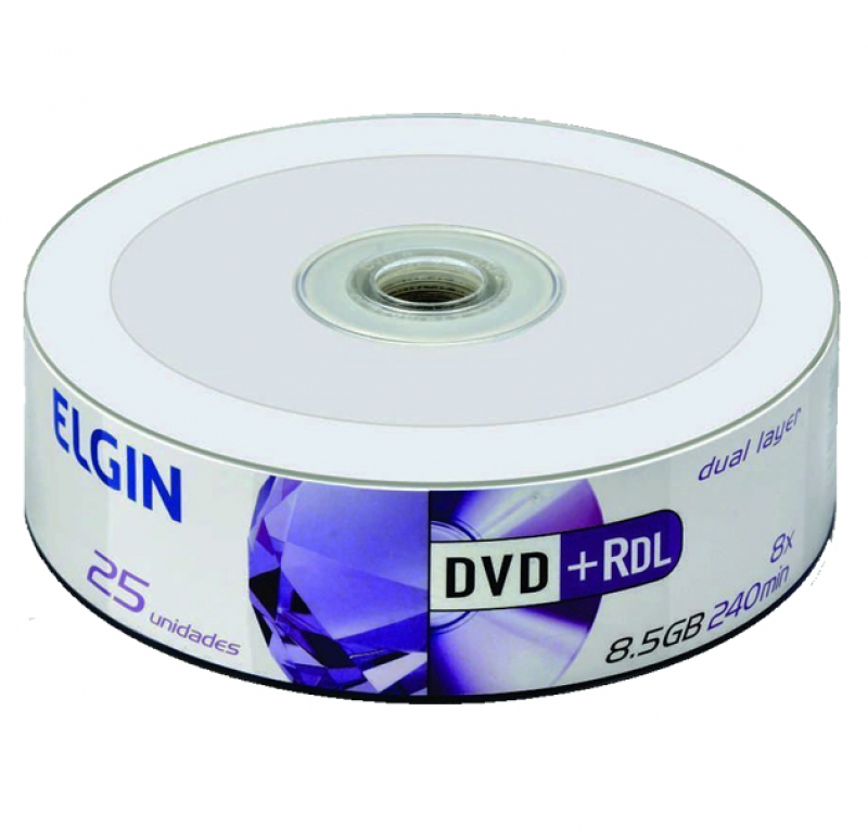 DVD+R ELGIN DL PRINTABLE - CÓD.1077
