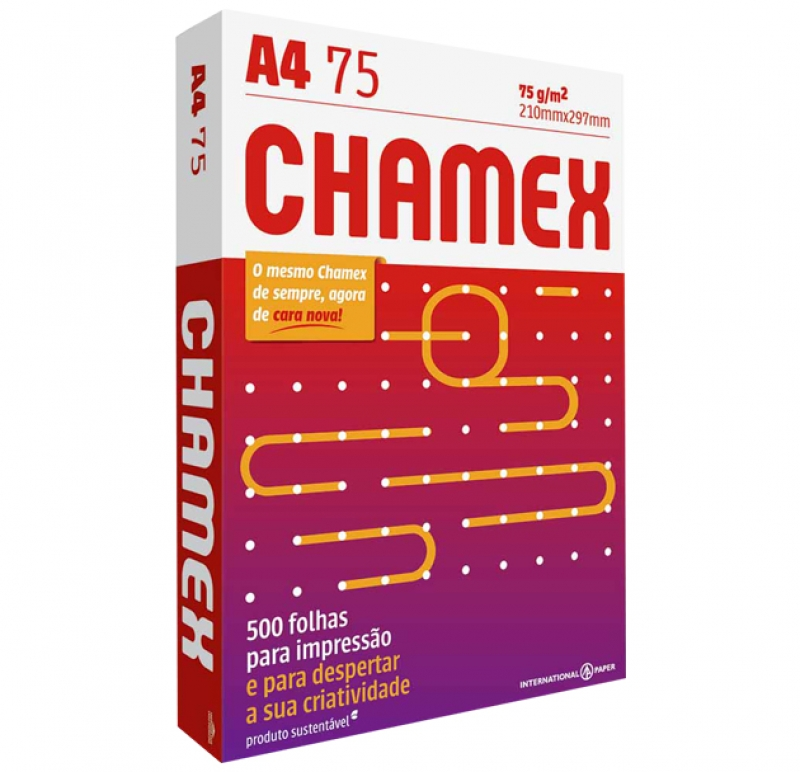 PAPEL A4 CHAMEX - COD.252